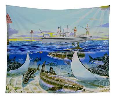 Cobia Run In004 Tapestry