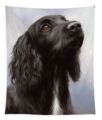 Cocker Spaniel Painting Tapestry