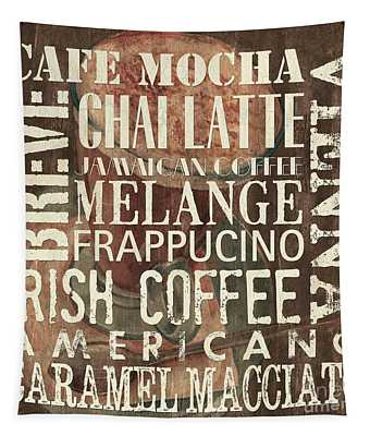 Coffee Of The Day 1 Tapestry