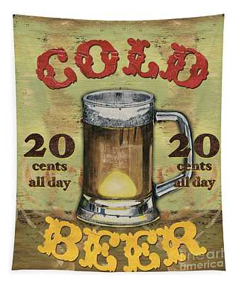 Cold Beer Tapestry