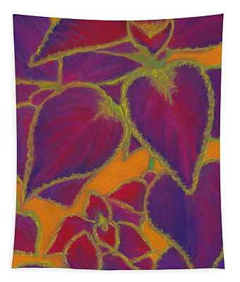 Coleus Gone Wild Tapestry