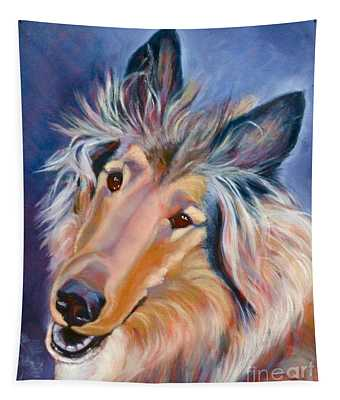 Collie Star Tapestry