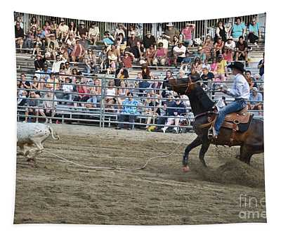 Tapestry featuring the photograph Colorado Roper by Gary Keesler