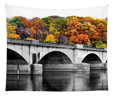 Colorful Bridge Tapestry