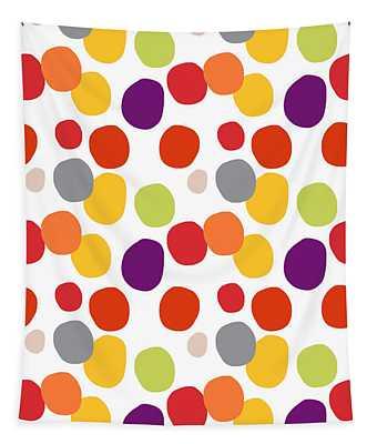Colorful Confetti  Tapestry