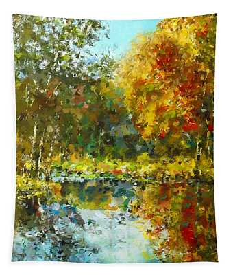 Colorful Dreams Tapestry
