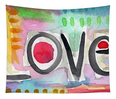 Colorful Love- Painting Tapestry