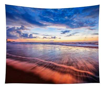 Colors In Surf Tapestry