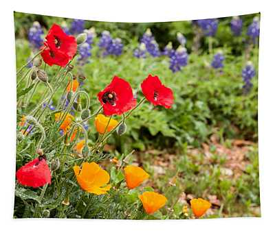 Colors Of Spring Tapestry
