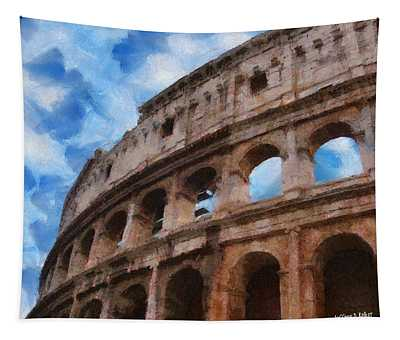 Colosseo Tapestry