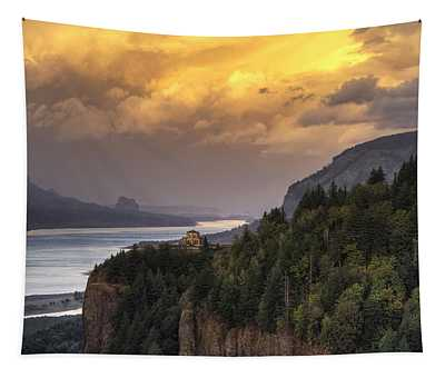 Columbia River Gorge Vista Tapestry