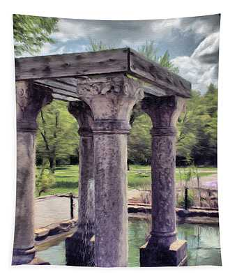 Columns In The Water Tapestry