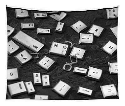Computer Keys Tapestry