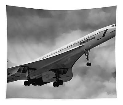 Concorde Supersonic Transport S S T Tapestry