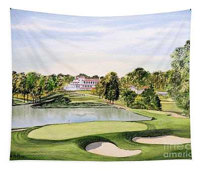 Congressional Golf Course 10th Hole Tapestry