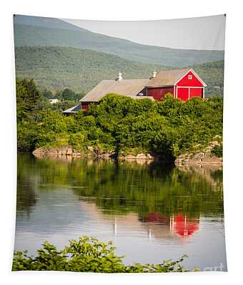 Connecticut River Farm Tapestry