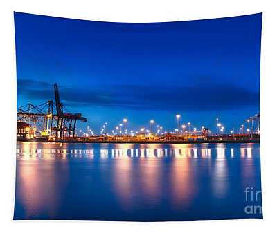 Freight Night Tapestry