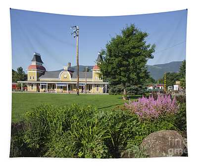 Conway Scenic Railroad - North Conway New Hampshire Usa Tapestry