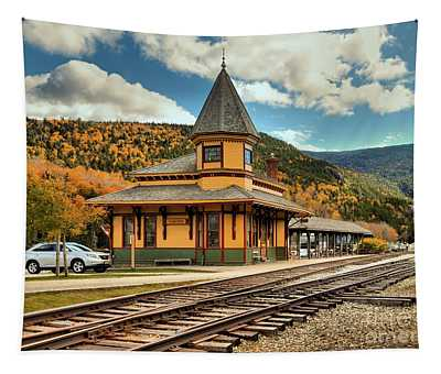 Conway Scenic Railroad Stop Tapestry