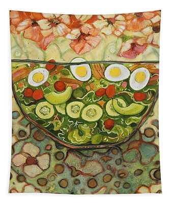 Cool Summer Salad Tapestry