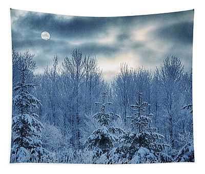 Cool Sunrise Tapestry