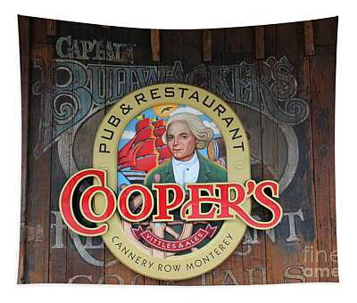 Coopers Pub And Restaurant On Monterey Cannery Row California 5d24779 Tapestry