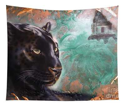 Copper Jaguar Tapestry