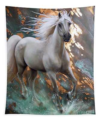 Copper Sundancer - Horse Tapestry