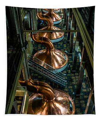 Copper Tops Tapestry