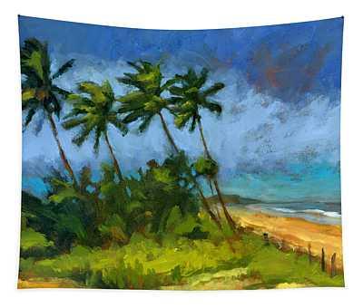 Coqueiros De Massarandupio Tapestry