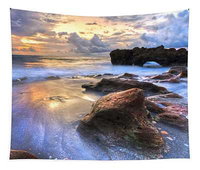 Coral Garden Tapestry
