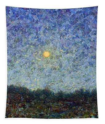 Cornbread Moon - Square Tapestry