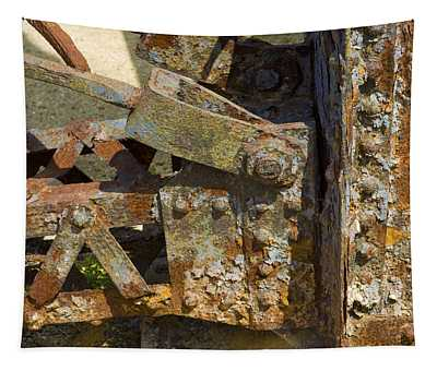 Corroded Steel Tapestry