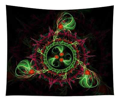 Cosmic Cherry Pie Tapestry