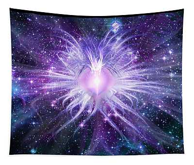 Cosmic Heart Of The Universe Tapestry