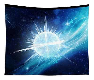 Cosmic Icestream Tapestry