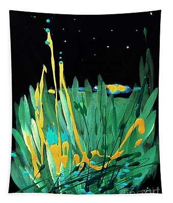Cosmic Island Tapestry