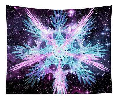Cosmic Starflower Tapestry