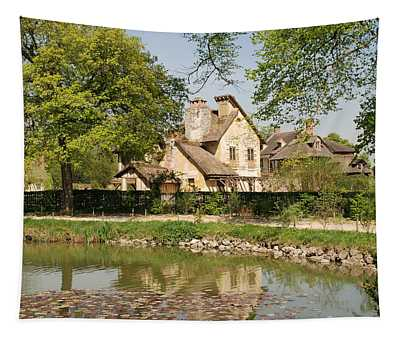 Cottage In The Hameau De La Reine Tapestry