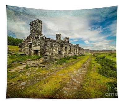 Cottage Ruins Tapestry