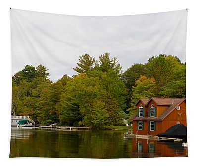 Cottages At The Lakeside, Lake Muskoka Tapestry