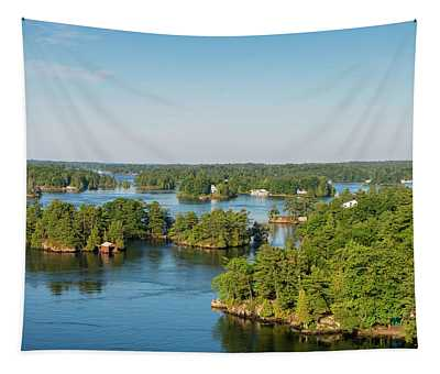 Cottages In Thousand Islands Region Tapestry