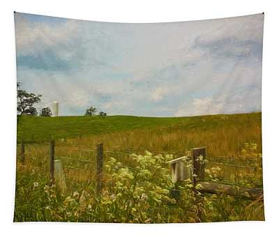 Country Meadow Tapestry