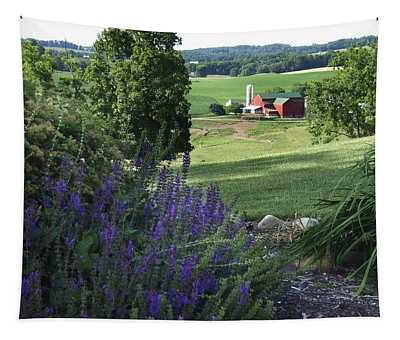 Country Valley Tapestry
