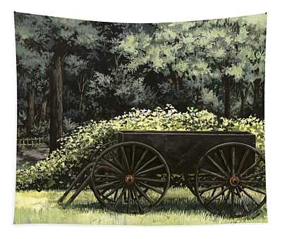 Country Wagon Tapestry