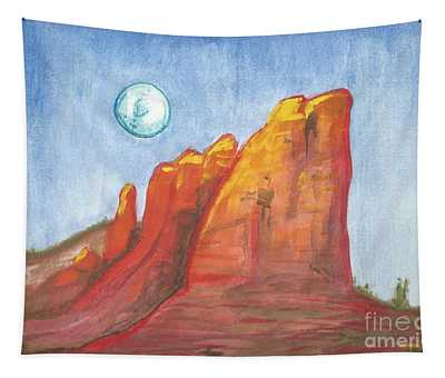Court House Butte  Tapestry