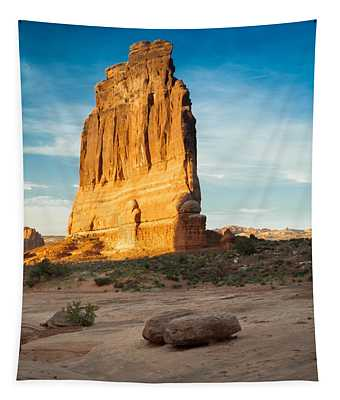Courthouse Rock Tapestry