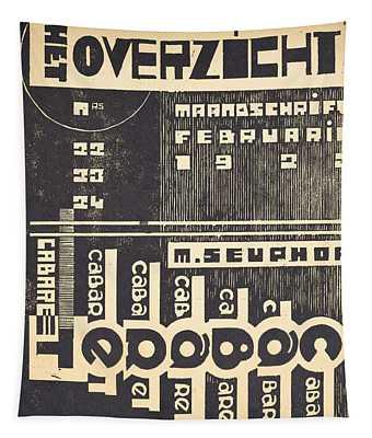 Cover For The Magazine Het Overzicht Tapestry