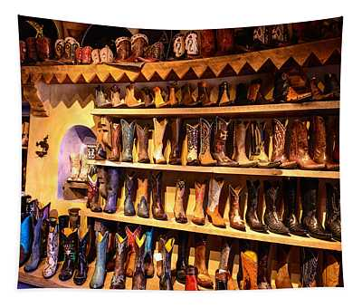 Cowboy Boots Tapestry
