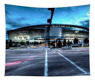 Cowboys Stadium Pregame Tapestry